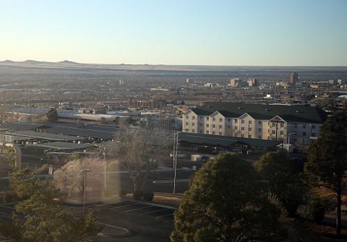 アルバカーキの眺望.JPG